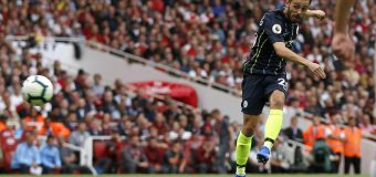 Arsenal 0-2 Man City: Champions start defence with victory